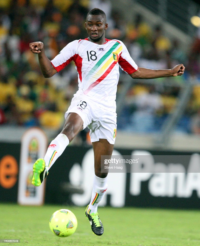 Samba Sow of Mali during the 2013 African Cup of Nations Quarter-Final match between South Africa and Mali at Moses Mahbida Stadium on February 2, 2013 in Durban, South Africa.