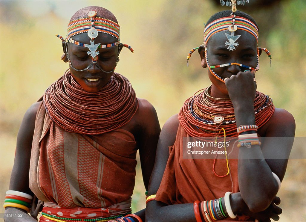 Samburu girls,Samburu,Kenya : Stock Photo