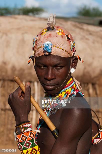 Samburu Tribesman, Loisaba Wilderness Conservancy, Laikipia, Kenya