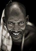 Samburu warrior in Kenya on July 13 2009 The Samburu are closely related to the Maasai Like the Maasai they live in the central Rift Valley in Kenya...