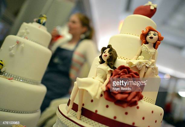 Gay Wedding Cakes Stock Photos and Pictures Getty Images