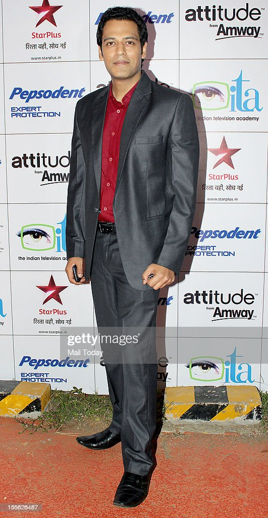Sameer Kochar during Indian Television Academy Awards 2012 (ITA Awards), held in Mumbai on November 4, 2012.