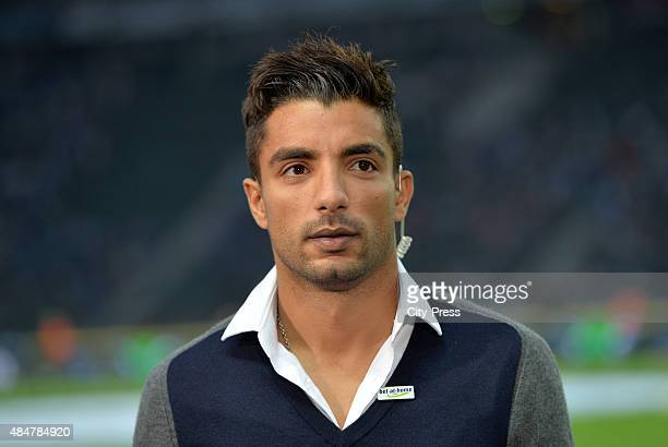 Sami Allagui of Hertha BSC during the game between Hertha BSC and Werder Bremen on August 21 2015 in Berlin Germany