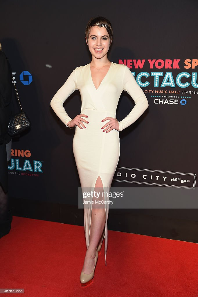 Sami Gayle attends the 2015 New York Spring Spectacular at Radio City Music Hall on March 26 2015 in New York City