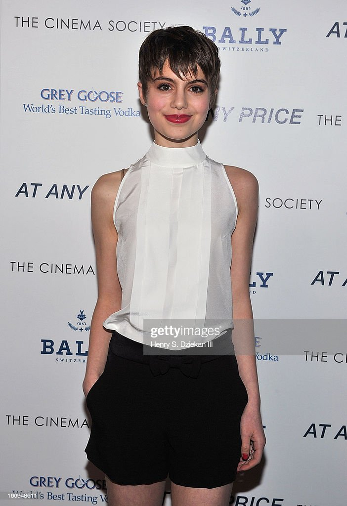 Sami Gayle attends the Cinema Society & Bally screening of Sony Pictures Classics' 'At Any Price' at Landmark's Sunshine Cinema on April 18, 2013 in New York City.