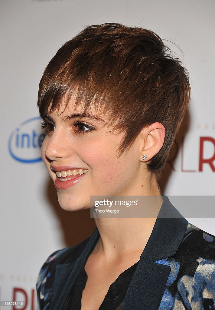 Sami Gayle attends the 'Girl Rising' premiere at The Paris Theatre on March 6, 2013 in New York City.