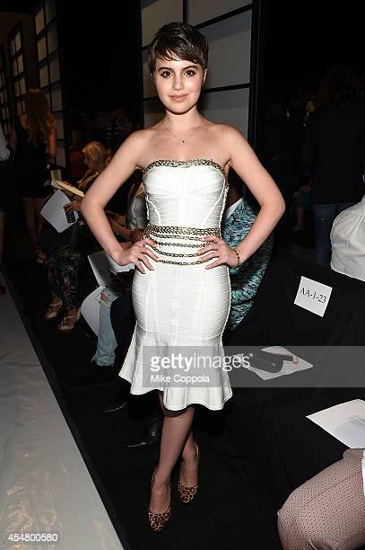 Sami Gayle attends the MercedesBenz Lounge during MercedesBenz Fashion Week Spring 2015 at Lincoln Center on September 6 2014 in New York City