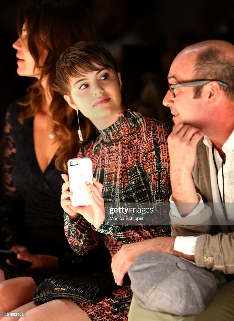 Sami Gayle attends the Nanette Lepore fashion show during MercedesBenz Fashion Week Spring 2015 at The Salon at Lincoln Center on September 7 2014 in...