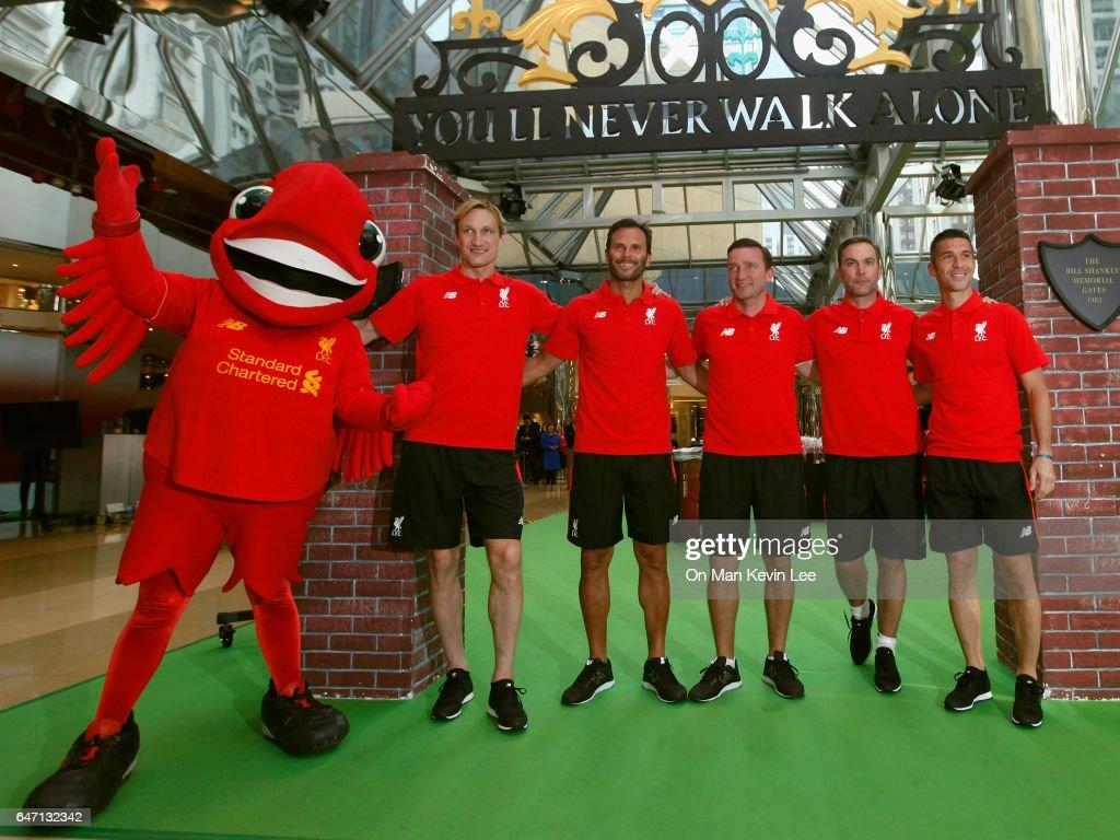 Liverpool FC Legends Jason McAteer, Luis Garcia, Patrik Berger, Sami Hyypia & Vladimir Smicer Visit Hong Kong