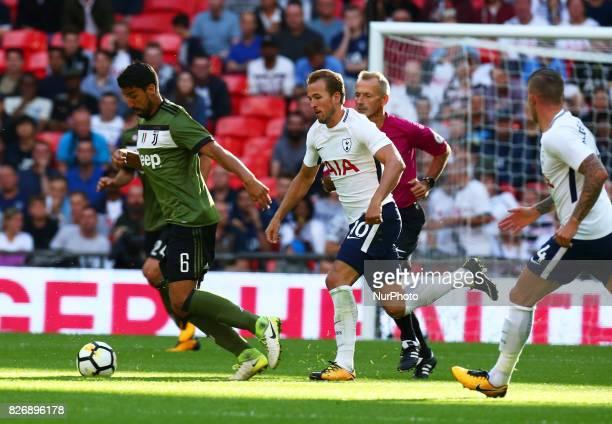 Sami Khedira of Juventus FC during the Friendly match between Tottenham Hotspur and Juventus at Wembley stadium London England on 5 August 2017