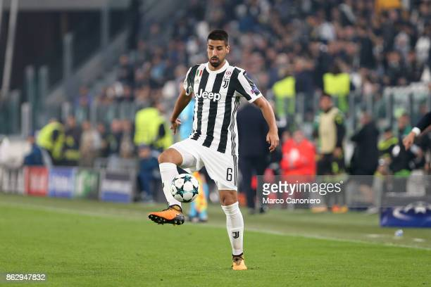 Sami Khedira of Juventus FC in action during the UEFA Champions League group D match between Juventus FC and Sporting Clube de Portugal Juventus Fc...