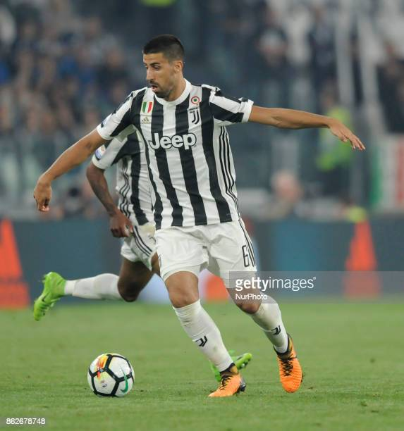 Sami Khedira of Juventus player during the match valid for Italian Football Championships Serie A 20172018 between FC Juventus and SS Lazio at...