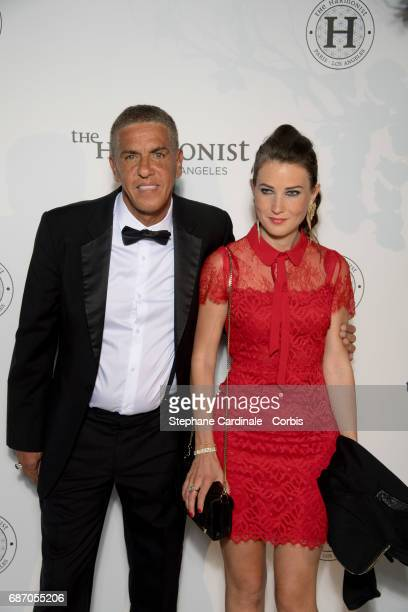 Sami Naceri et Marie de Fleurieu attend The Harmonist Party during the 70th annual Cannes Film Festival at on May 22 2017 in Cannes France