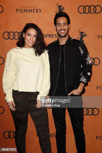 Sami Slimani and Lamiya Slimani the Audi Berlinale Brunch during the 67th Berlinale International Film Festival on February 12 2017 in Berlin Germany