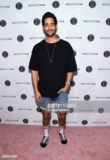 Sami Slimani attends the 5th Annual Beautycon Festival Los Angeles at the Los Angeles Convention Center on August 12 2017 in Los Angeles California