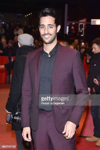 Sami Slimani attends the 'Final Portrait' premiere during the 67th Berlinale International Film Festival Berlin at Berlinale Palace on February 11...