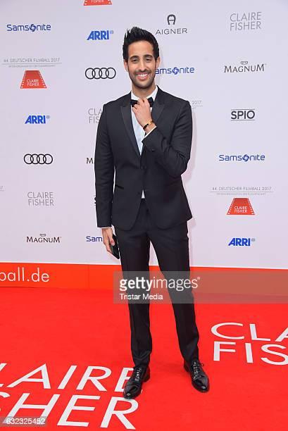Sami Slimani attends the German Film Ball 2017 at Hotel Bayerischer Hof on January 21 2017 in Munich Germany
