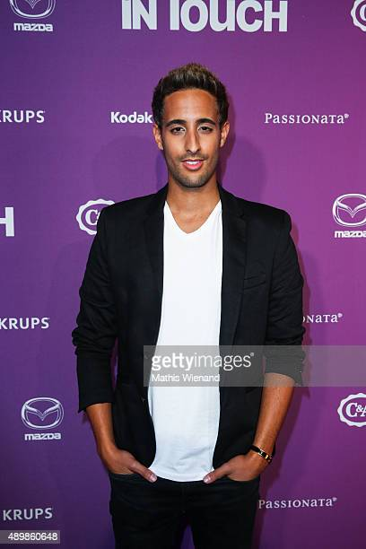 Sami Slimani attends the Icons Idols No 3 event to celebrate the 10th anniversary of InTouch magazine on September 24 2015 in Duesseldorf Germany