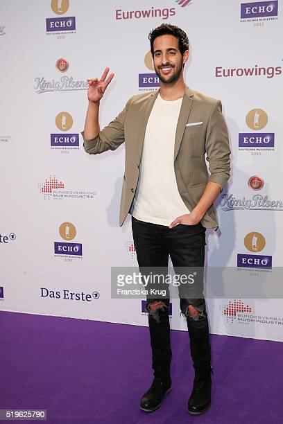 Sami Slimani attends the Koenig Pilsener At Echo Award 2016 on April 07 2016 in Berlin Germany