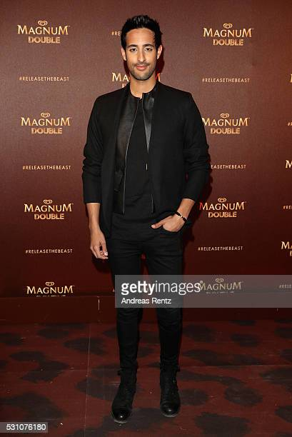 Sami Slimani attends the Magnum Doubles Party at the annual 69th Cannes Film Festival at Plage Magnum on May 12 2016 in Cannes France