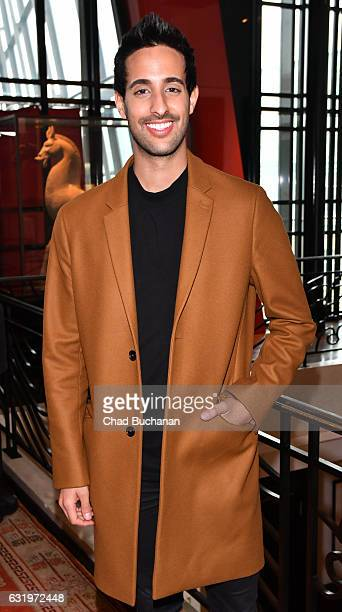 Sami Slimani attends the Thomas Sabo Press Cocktail during the MercedesBenz Fashion Week Berlin A/W 2017 at China Club on January 18 2017 in Berlin...