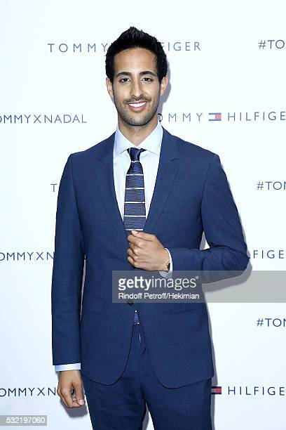 Sami Slimani attends the Tommy Hilfiger Hosts Tommy X Nadal Party Photocall on May 18 2016 in Paris France