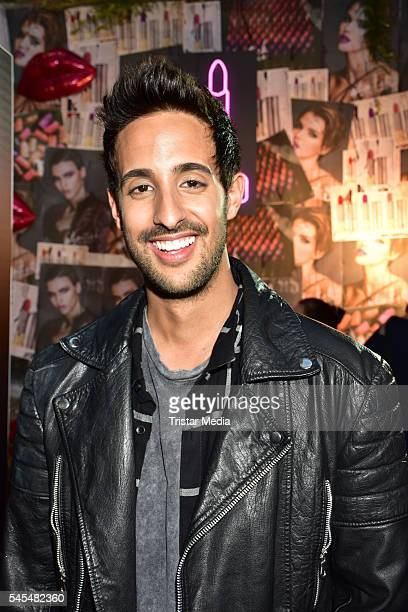 Sami Slimani attends the URBAN DECAY Vice Lipstick Launch at Prince Charles Club on July 7 2016 in Berlin Germany