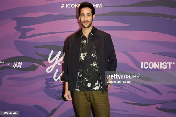 Sami Slimani attends the Young ICONs Award in cooperation with HM and Tiffany's Co at BRLO Brwhouse on February 14 2017 in Berlin Germany