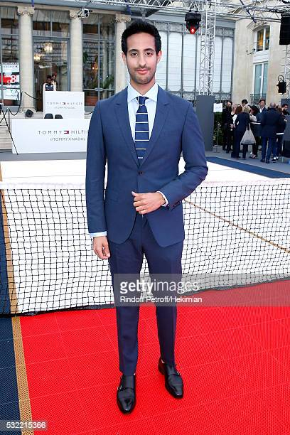 Sami Slimani attends Tommy Hilfiger hosts Tommy X Nadal Party Photocall on May 18 2016 in Paris