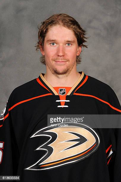 Sami Vatanen of the Anaheim Ducks poses for his official headshot for the 20162017 season on October 3 2016 at Honda Center in Anaheim California