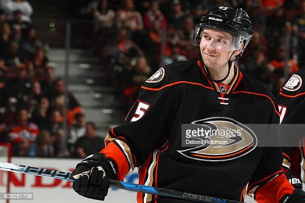 Sami Vatanen of the Anaheim Ducks skates during the game against the Edmonton Oilers on November 15 2016 at Honda Center in Anaheim California