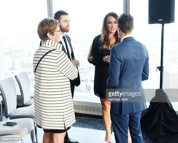 Sami Zayn Nia Jax and Chris Mosierthe Beyond Sport Global Awards on July 26 2017 in New York City
