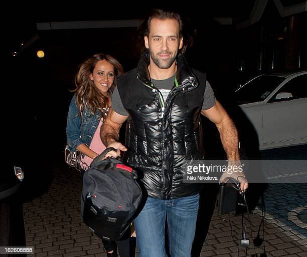 Samia Ghadie and Sylvain Longchambon sighting on February 24 2013 in London England