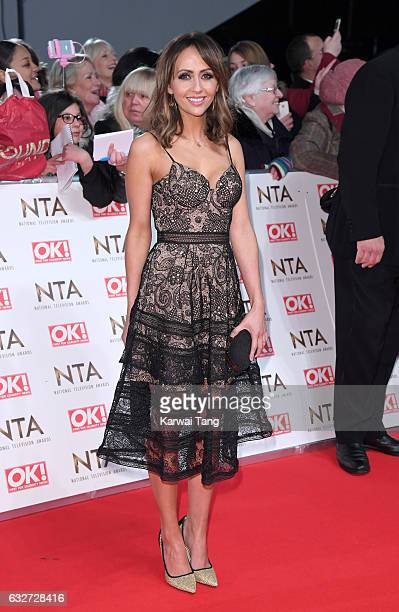 Samia Longchambon attends the National Television Awards at The O2 Arena on January 25 2017 in London England