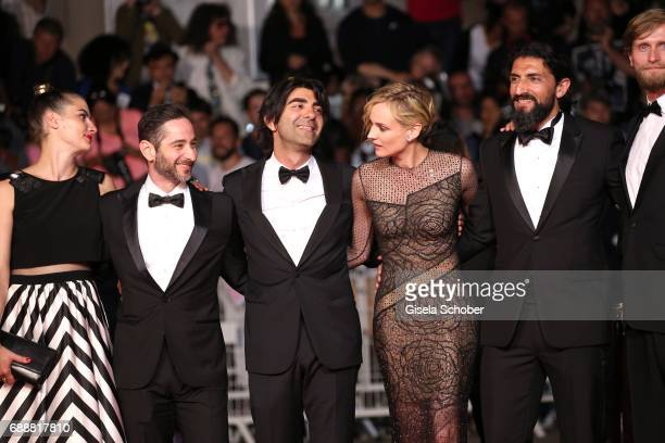 Samia Muriel Chancrin Denis Moschitto director Fatih Akin Diane Kruger Numan Acar and Ulrich Brandhoff attend the 'In The Fade ' screening during the...