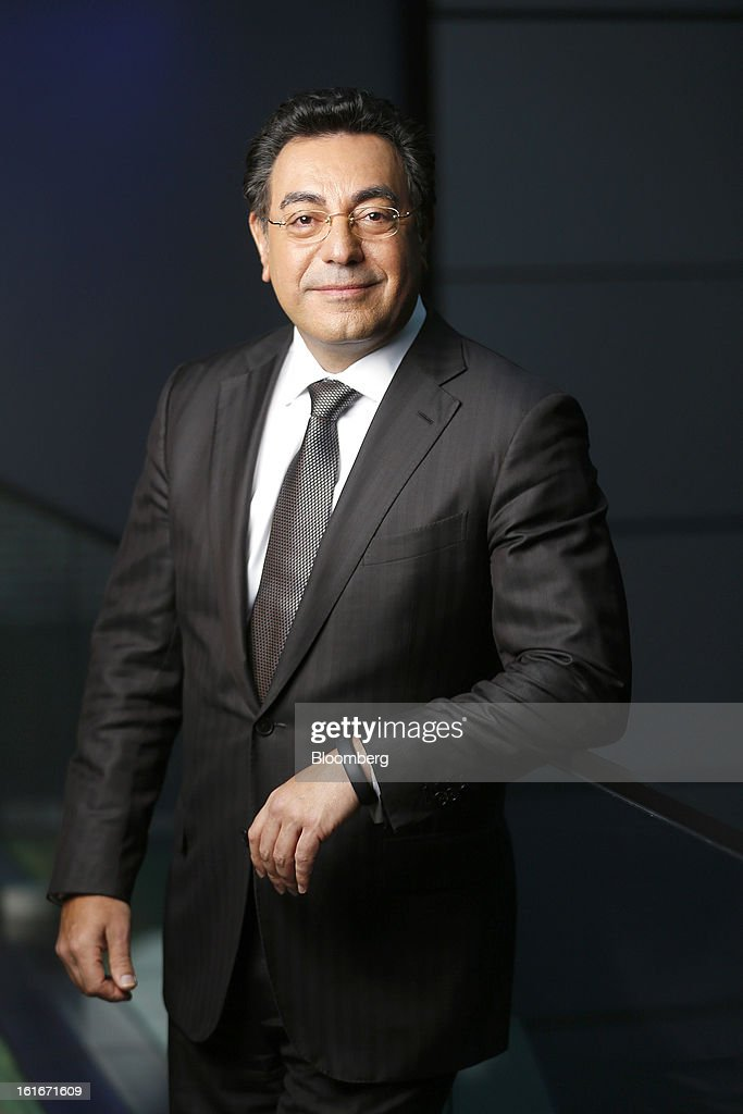 Samir Brikho, chief executive officer of Amec Plc, poses for a photograph following a Bloomberg Television Interview in London, U.K., on Thursday, Feb. 14, 2013. Brikho said that over the year 'oil & gas revenue was up strongly, especially in the UK North Sea and in US Gulf of Mexico, with good contract wins too in the Middle East'. Photographer: Simon Dawson/Bloomberg via Getty Images
