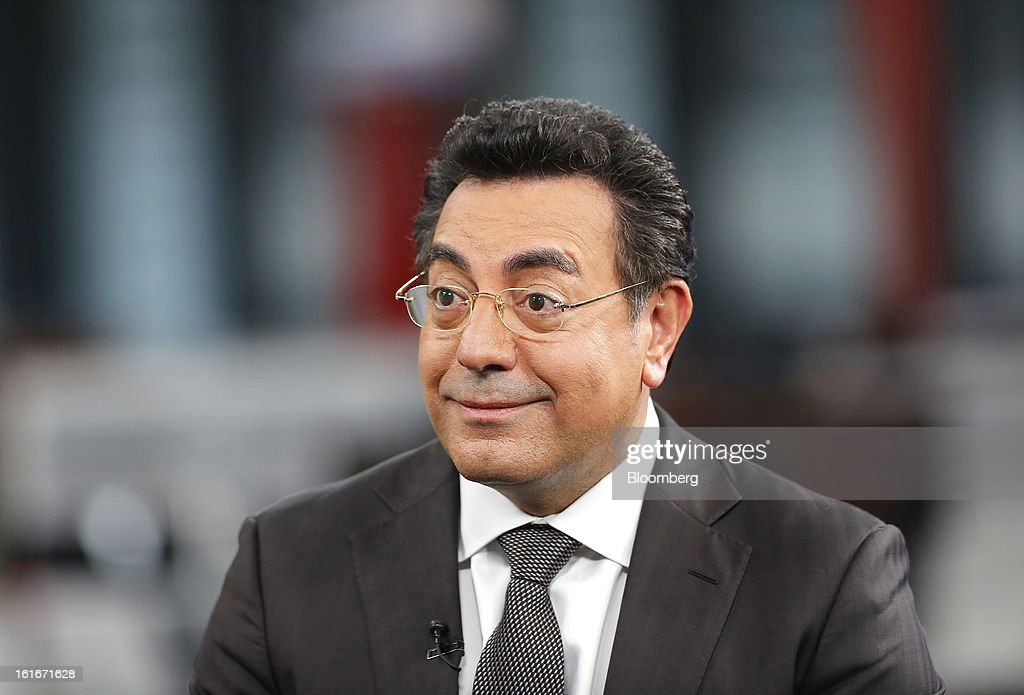 Samir Brikho, chief executive officer of Amec Plc, reacts during a Bloomberg Television Interview in London, U.K., on Thursday, Feb. 14, 2013. Brikho said that over the year 'oil & gas revenue was up strongly, especially in the UK North Sea and in US Gulf of Mexico, with good contract wins too in the Middle East'. Photographer: Simon Dawson/Bloomberg via Getty Images