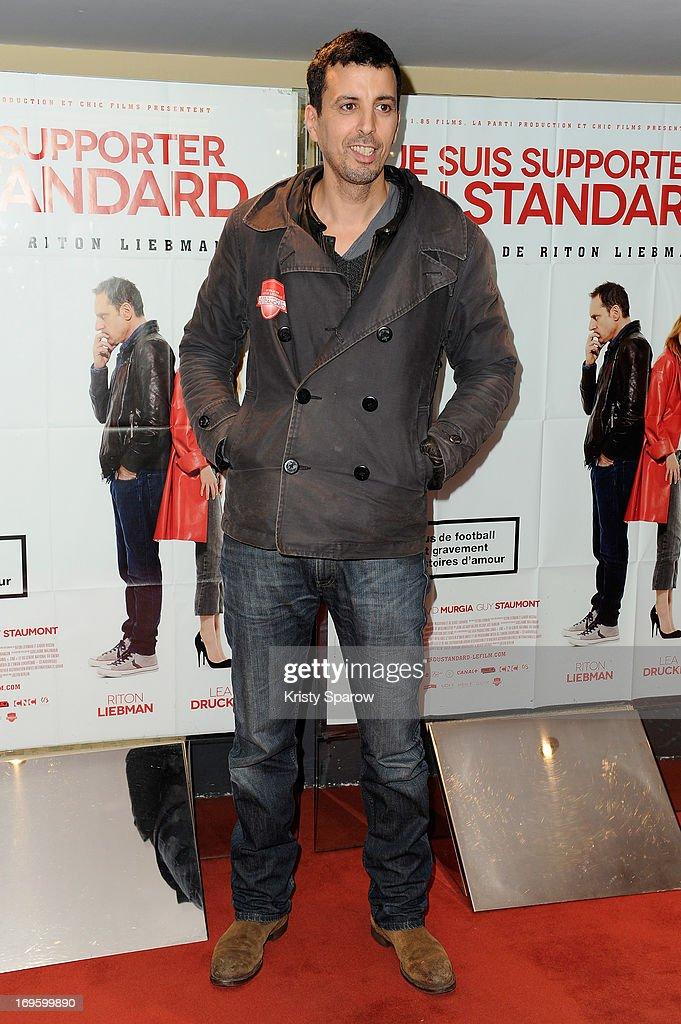 Samir Guesmi attends the 'Je Suis Supporter Du Standard' Premiere at the UGC Cine Cite des Halles on May 28, 2013 in Paris, France.