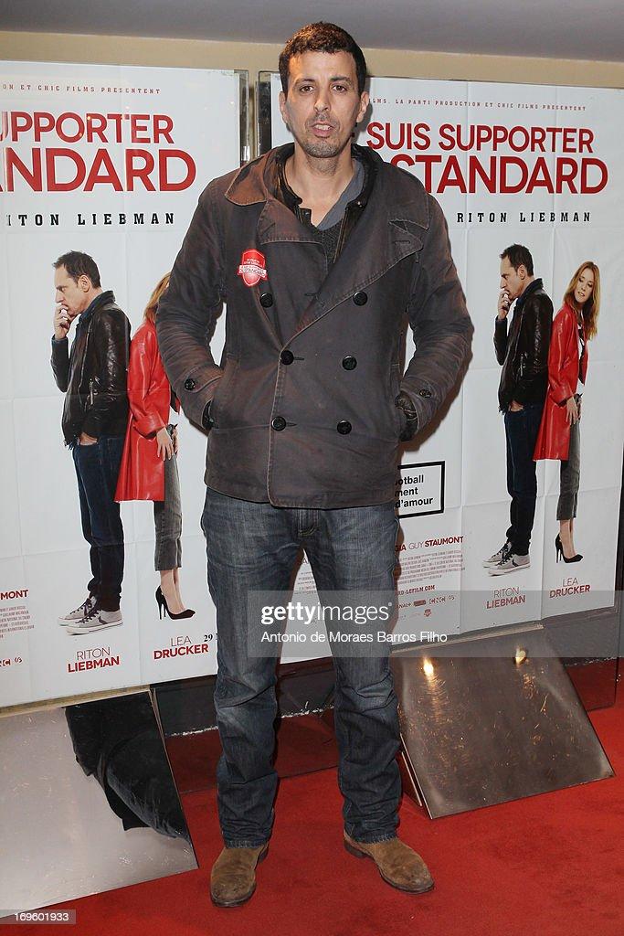 Samir Guesmi attends the 'Je Suis Supporter Du Standard' Premiere at UGC Cine Cite des Halles on May 28, 2013 in Paris, France.