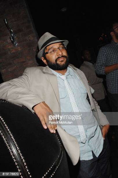 Samir Gupta attend The Supper Club Shepard Fairey's SNO host a Bombay Sapphire Tea Party at The Tea Room on July 20 2010 in Hollywood California