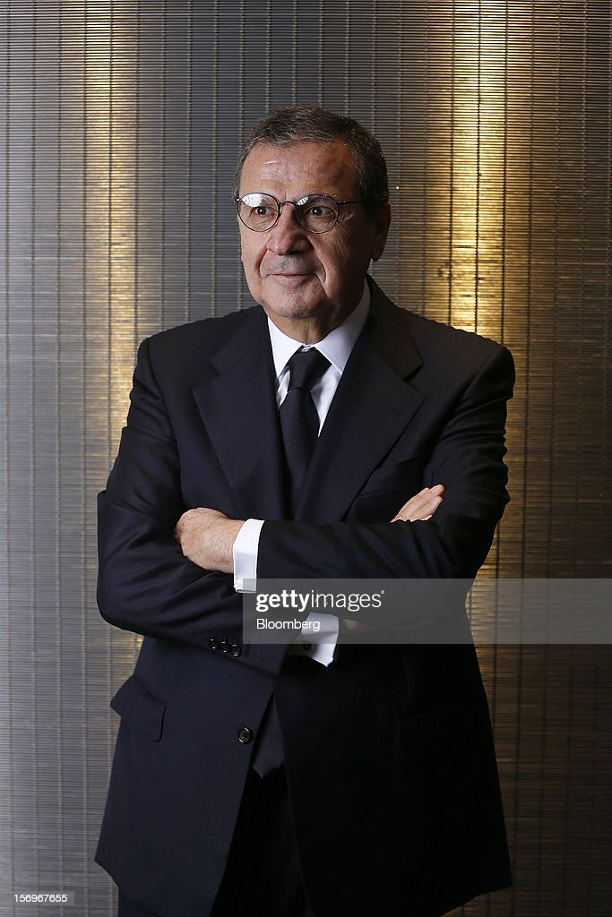 Samir Hanna, chief executive officer of Bank Audi Sal-Audi Saradar Group, poses for a photograph at the London Stock Exchange in London, U.K., on Friday, Nov. 23, 2012. Lebanon's inflation rate rose to 11.1 percent in October from a year ago, the country's statistics office said. Photographer: Simon Dawson/Bloomberg via Getty Images
