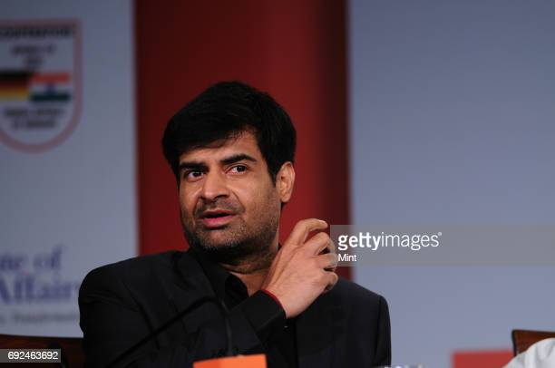 Samir Saran Vice President of ObserverResearch Foundation photographed during the Mint Clarity Through Debate on enabling business action for...