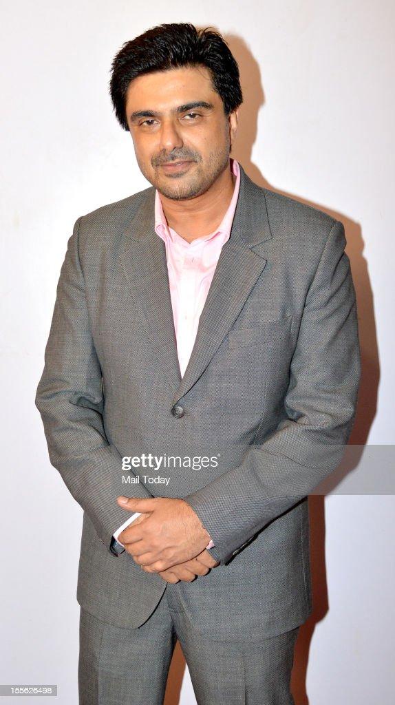 Samir Soni during Indian Television Academy Awards 2012 (ITA Awards), held in Mumbai on November 4, 2012.