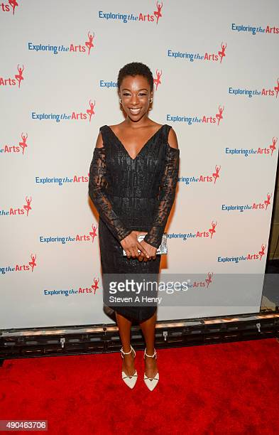 Samira Wiley attend the 9th Annual Exploring the Arts Gala at Cipriani 42nd Street on September 28 2015 in New York City