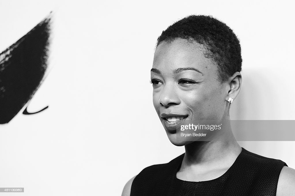 <a gi-track='captionPersonalityLinkClicked' href=/galleries/search?phrase=Samira+Wiley&family=editorial&specificpeople=10947919 ng-click='$event.stopPropagation()'>Samira Wiley</a> attends Logo TV's 'Trailblazers' at the Cathedral of St. John the Divine on June 23, 2014 in New York City.