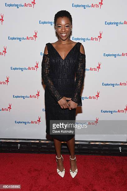 Samira Wiley attends the 9th Annual Exploring The Arts Gala founded by Tony Bennett and his wife Susan Benedetto at Cipriani 42nd Street on September...