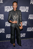 Samira Wiley attends 'The Color Purple' Broadway opening night at the Bernard B Jacobs Theatre on December 10 2015 in New York City