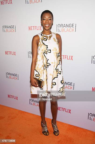 Samira Wiley attends the 'Orangecon' Fan Event at Skylight Clarkson SQ on June 11 2015 in New York City