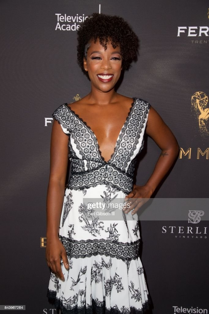 Samira Wiley attends the Television Academy Celebrates Nominees For Outstanding Casting at Montage Beverly Hills on September 7, 2017 in Beverly Hills, California.