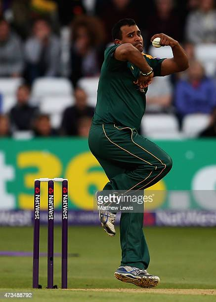 Samit Patel of Nottinghamshire in action during the NatWest T20 Blast match between Nottinghamshire and Warwickshire at Trent Bridge on May 15 2015...